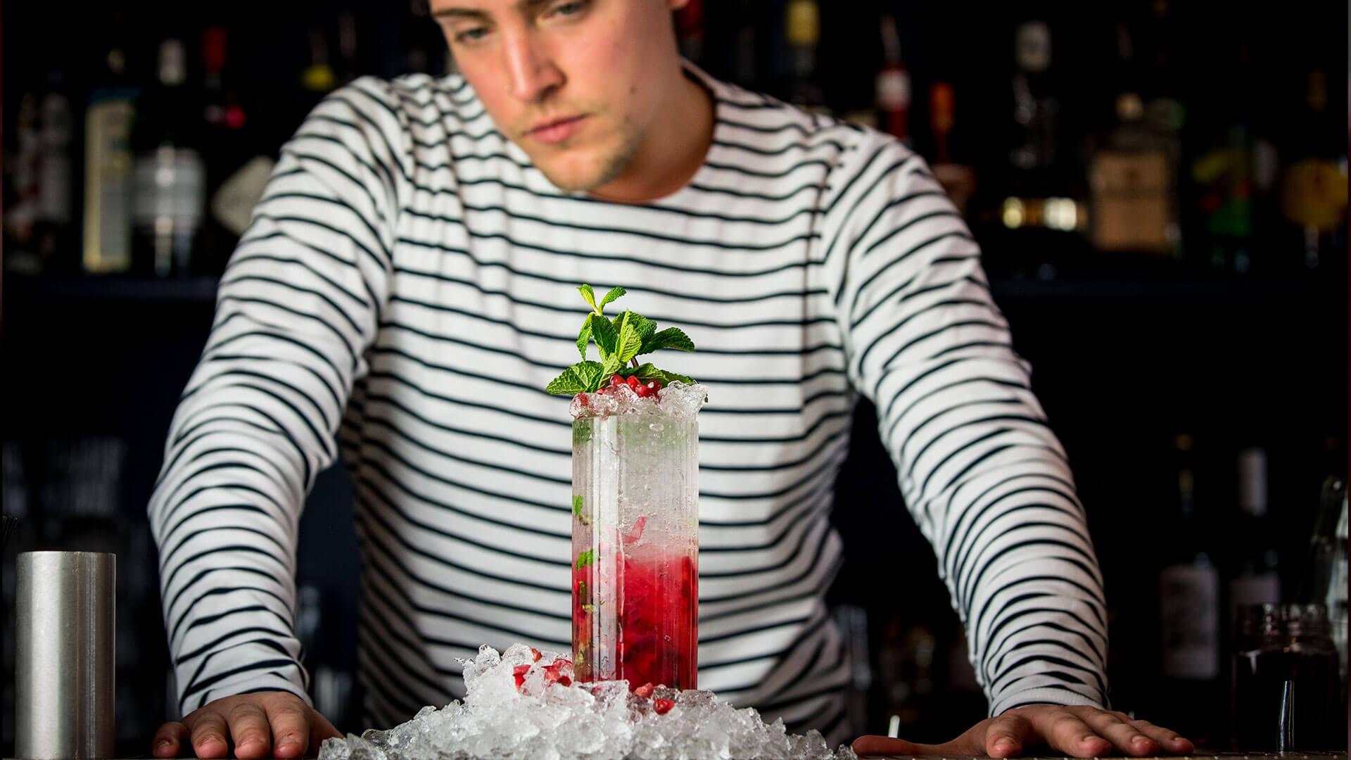 cocktail-barman photography