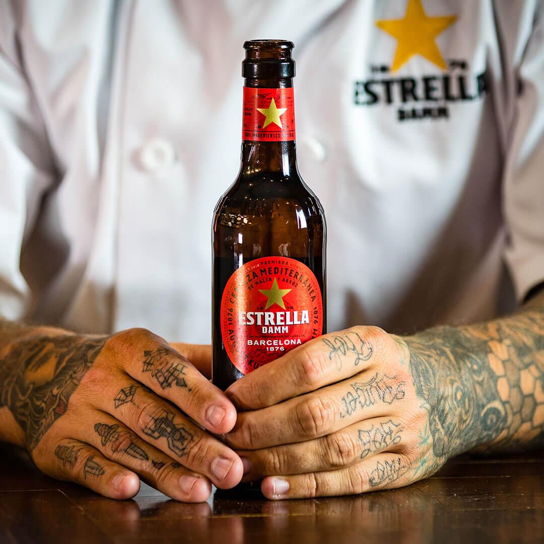estrella beer photography