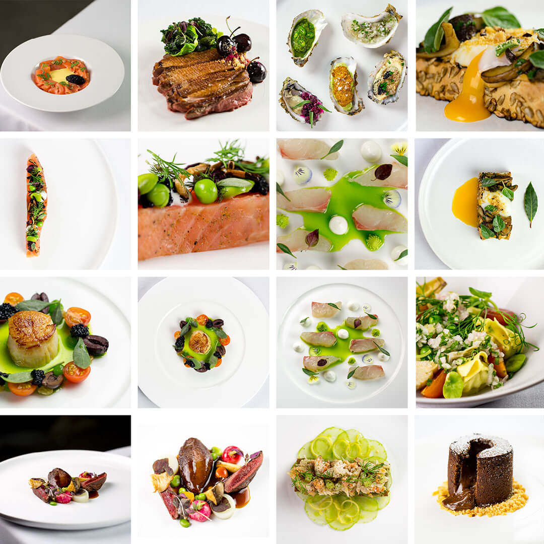 Food Photography Grid