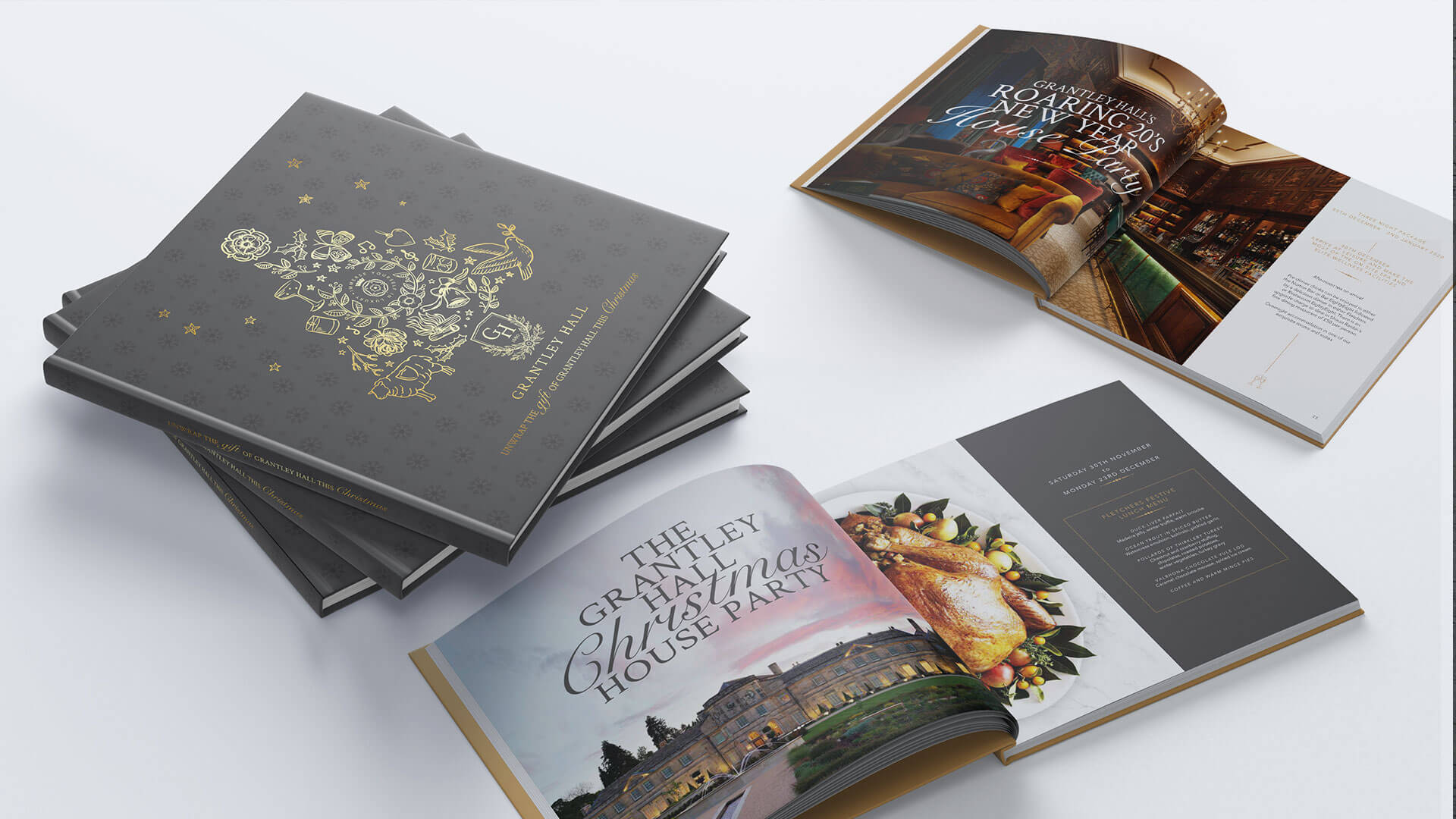 Grantley Hall Brochure Design